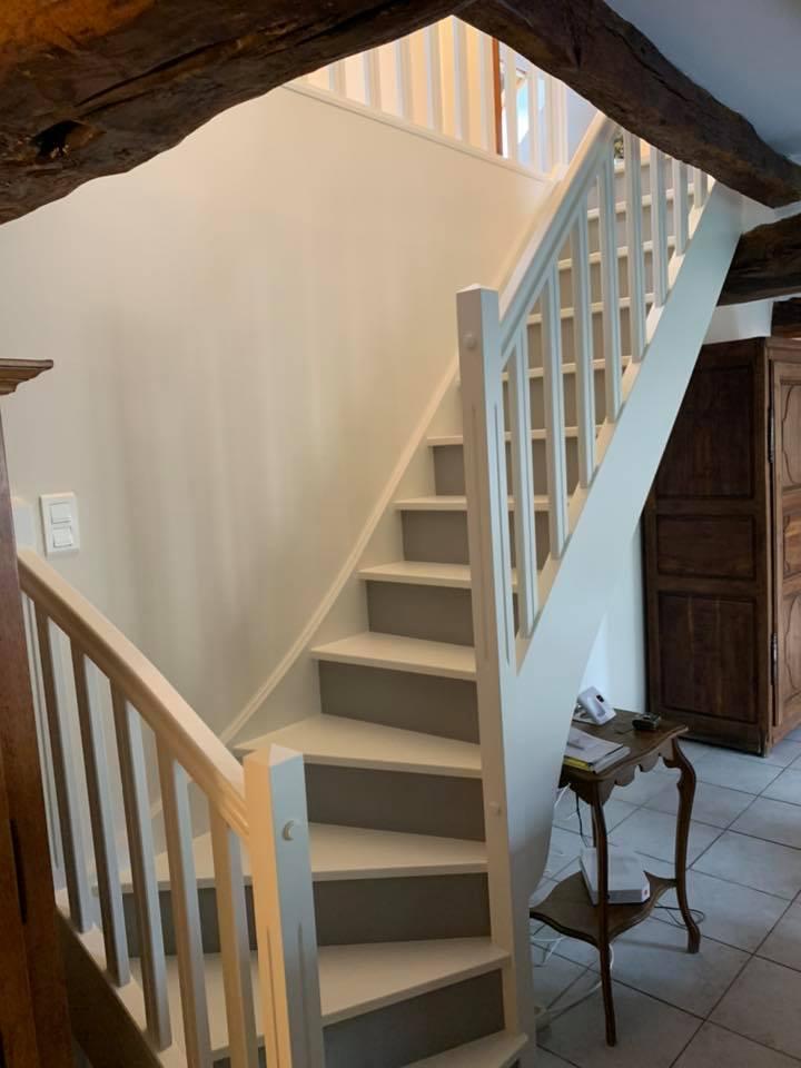 Rénovation d'escalier à Sens 89