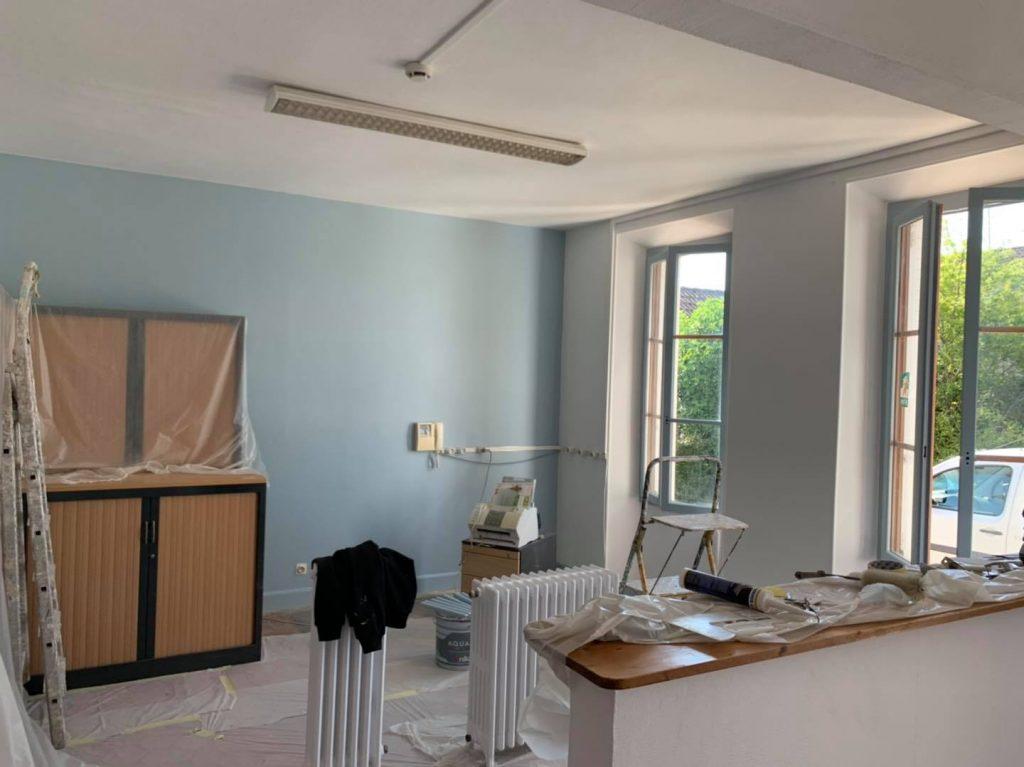 Rénovation peinture MFR Gron
